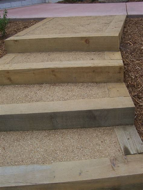 the 2 minute gardener garden elements landscape timber 629 best images about hillside steps ideas on pinterest
