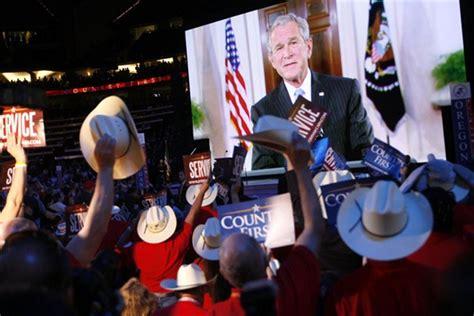 george bush party съезд республиканской партии сша в миннесоте интернет