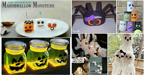 halloween decorations to make at home for kids 31 fun and easy halloween crafts for kids diy crafts