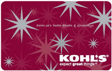 Kohls Gift Card Deals - my devotional thoughts 50 kohl s gift card giveaway ends 10 9 u s