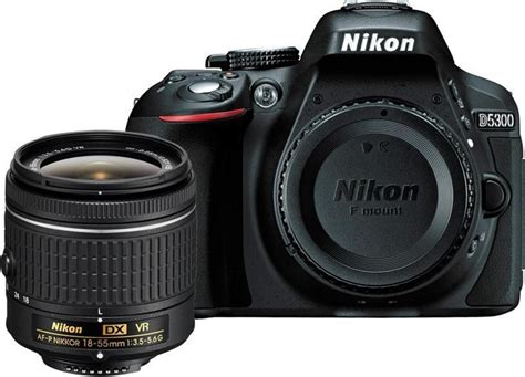 nikon  dslr camera body  single lens af p dx