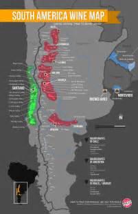 south america wine regions map wine folly