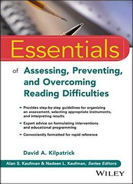 essentials of assessing preventing and overcoming