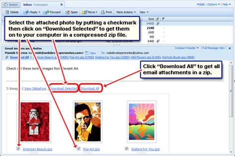 email yahoo download how to download pictures from yahoo mail mobile