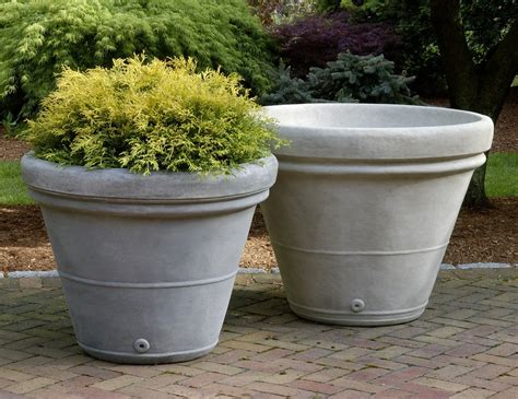 Estate Planters estate rolled planter heavy tapered planter