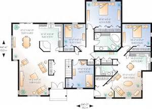 floor plans homes multi generational house plans studio design gallery