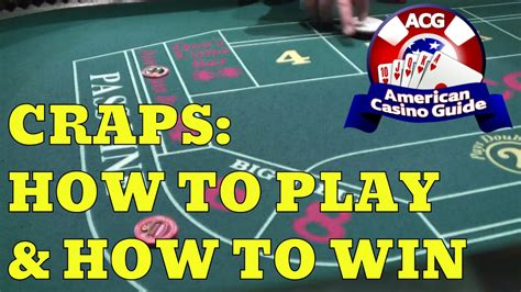 How To Win Money Playing Craps - how to play craps at casino and win filesfab