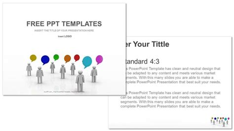 Communication And Speech Business Ppt Templates Speech Powerpoint Template