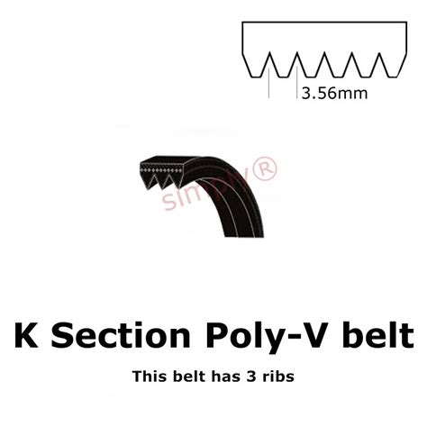 Buy K Section Poly V Belts Online Form Our Very