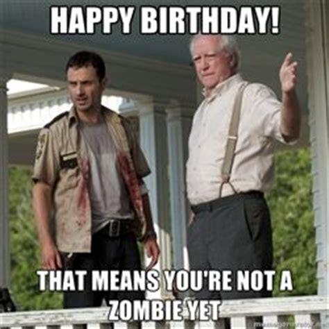 Zombie Birthday Meme - walking dead happy birthday pictures walking dead