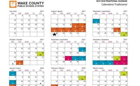 Wcpss Calendar Wcpss 2017 Calendar My