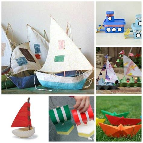 kid craft boats 20 boat craft ideas