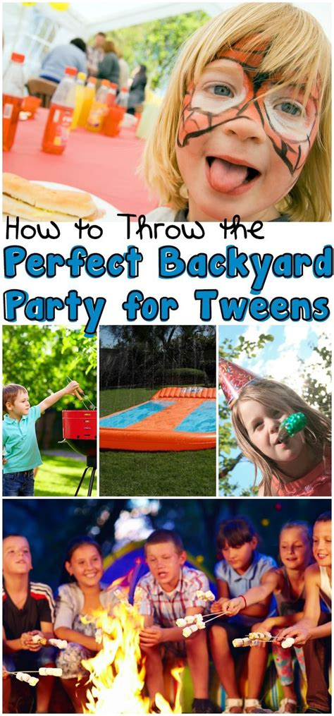 how to throw a backyard party how to throw the perfect backyard party for tweens and a