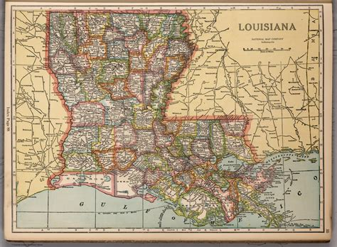 louisiana map free louisiana