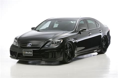 lexus car black wald international lexus ls600h car tuning