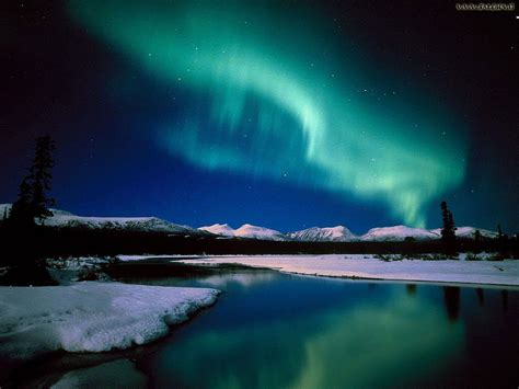 Nothern Lights by World Visits Alaska Largest State In The United States