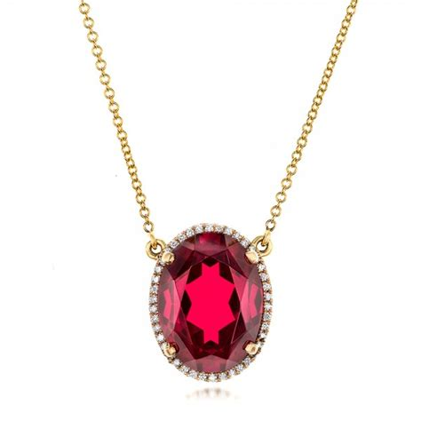 custom ruby and pendant 102523