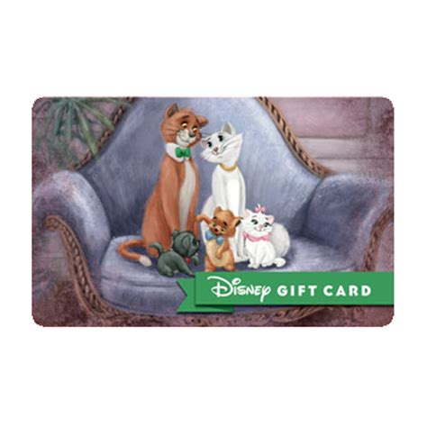 Duchess Shoppe Gift Card Balance - your wdw store disney collectible gift card classics aristocats