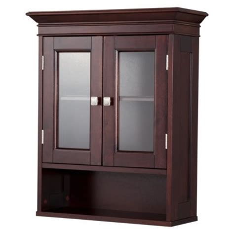 fieldcrest luxury wall cabinet espresso
