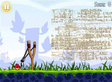 angry birds come from ancient egypt about islam