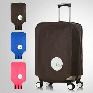Luggage Cover Cover Pelindung Koper Ito 26 A203 Limited 1 ready stock luggage cover suitcase protector 20 22 24 26 28 inch shopee malaysia