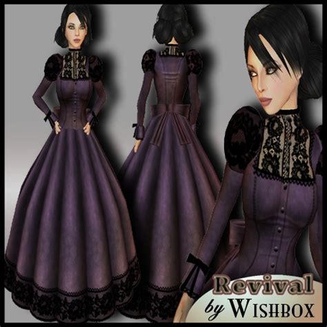second life marketplace special sale price black red steunk victorian dress www pixshark com images