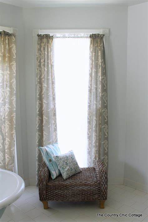 How To Sew Your Own Curtains Diyideacenter Com