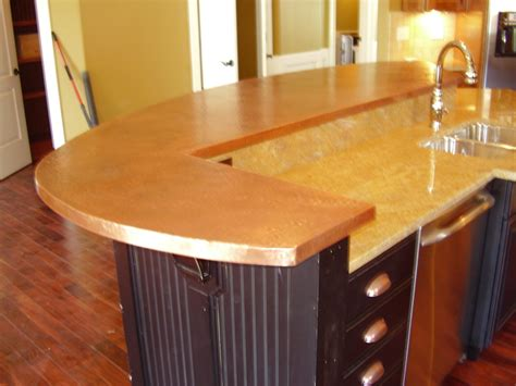 custom bar tops countertops copper bar tops kitchen bath bar circle city
