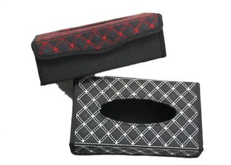 Tissue Box Kotak Tempat Tisu elegantly classic design leather wine series tissue paper rectangle box holder kotak tisu