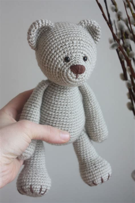 Handmade Teddy Patterns - happyamigurumi new teddy pdf pattern