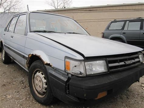 1986 Toyota Parts Used 1986 Toyota Corolla Parts