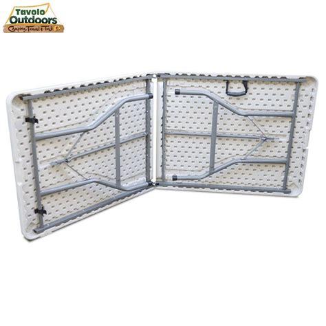 tavoli pieghevoli prezzi tavolo pieghevole in resina 183x76x72cm metallo