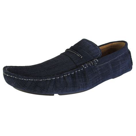 steve madden mens slippers steve madden mens scratchd slip on moc toe loafer shoes ebay