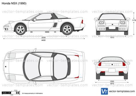 templates cars honda honda nsx