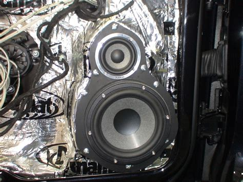 Best Door Speakers by How To Install Midrange Midbass Speakers Into An R36