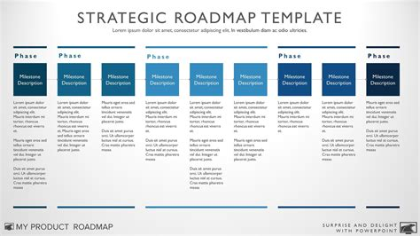 Nine Phase Business Timeline Roadmapping Presentation Technology Roadmap Template Ppt Free