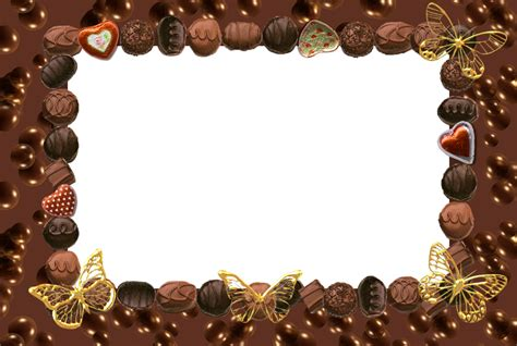 chocolate templates for powerpoint free download chocolate border frame backgrounds presnetation ppt