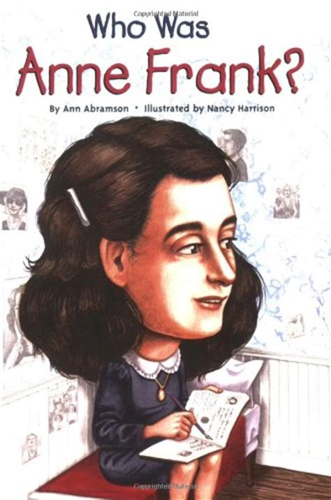 anne frank biography book report facts about anne frank