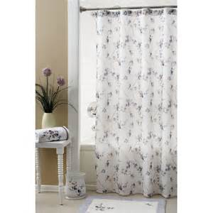 Polyester Shower Curtains Croscill Pergola Polyester Shower Curtain Reviews Wayfair