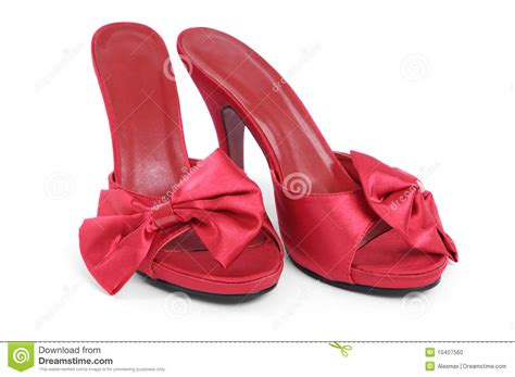 high slippers high heel slippers stock photo image 10407560