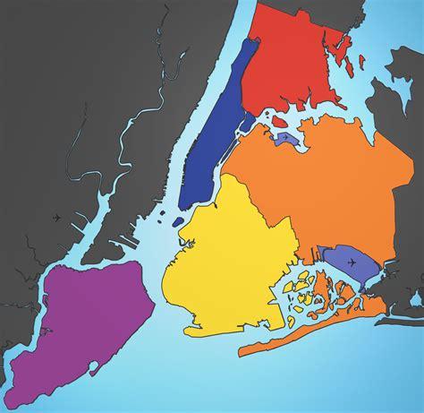 map of new york city boroughs maps new york city map 5 boroughs