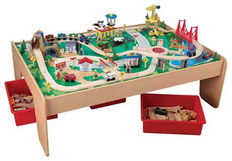 kidkraft playroom waterfall mountain set and
