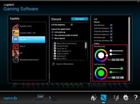 Discord Logitech Rgb   logitech gaming software integration with discord