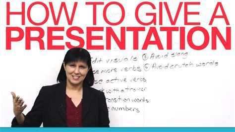 bagaimana memberikan presentasi bisnis  bahasa