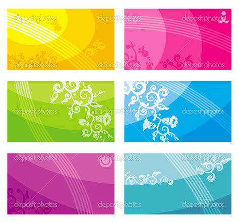 busienss card design templates 13 free printable business card designs images free