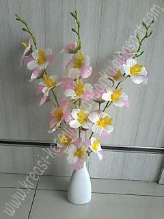 Serut Anggrek kreasi craft bunga anggrek 1