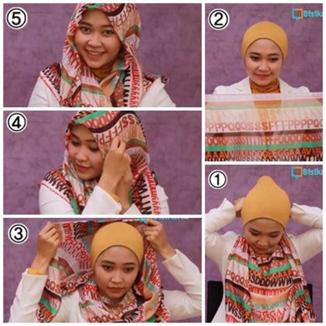 tutorial hijab simple sehari hari fairytale
