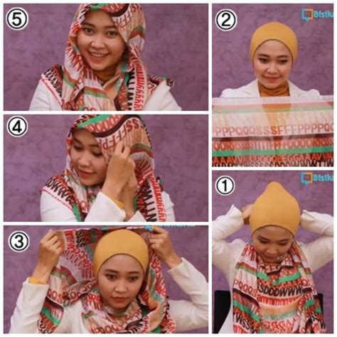 tutorial hijab paris simple untuk sehari hari fairytale