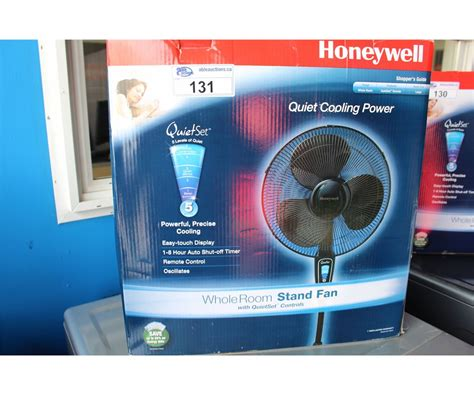 honeywell stand up fan honeywell quiet whole room stand fan able auctions