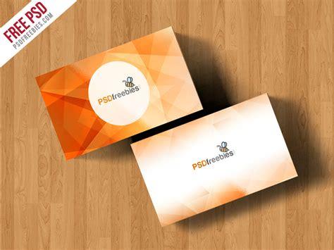 card design mockup simple business card mockup free psd psdfreebies com